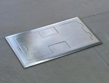 Recessed Floor Box Flush Finish Floor Box By Floor Box Systems
