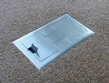 Two Gang Floor Box For Hardwood Floor Floor Box Systems