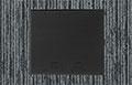 Black flat cover w/beveled edges