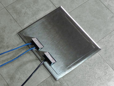 Concrete Floor Boxes In Slab On Grade Brass Box Covers