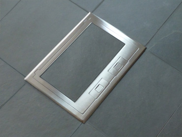 C34 Floor Outlet Box
