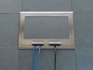 Stage Floor Boxes Amp Pockets For Xlr Etc Floor Box Systems
