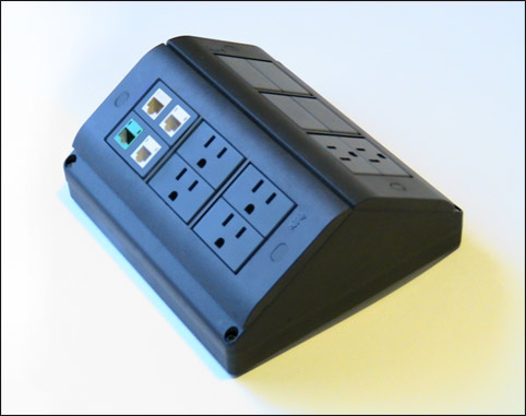 Table Box For Conference Tables And Office Desks By Floor Box Systems - Conference table power box