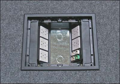 Fbs Faceplates For Pmc Floor Boxes
