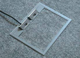 Wiremold Recessed Floor Box Concrete Wiremold Free