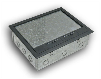 Concrete Floor Boxes New Work Or Retrofit By Fbs