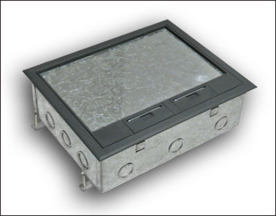 Pmc50 Concrete Floor Box Manufactured By Floor Box Systems